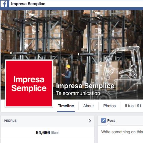 Impresa Semplice pagina di Facebook