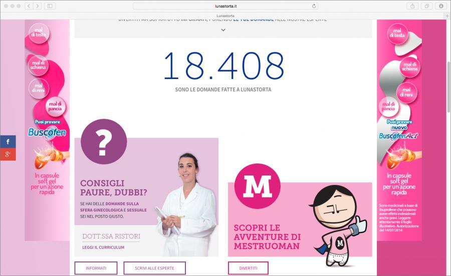 screenshot sito lunastorta