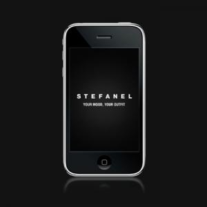 Screenshot applicazione mobile Stefanel