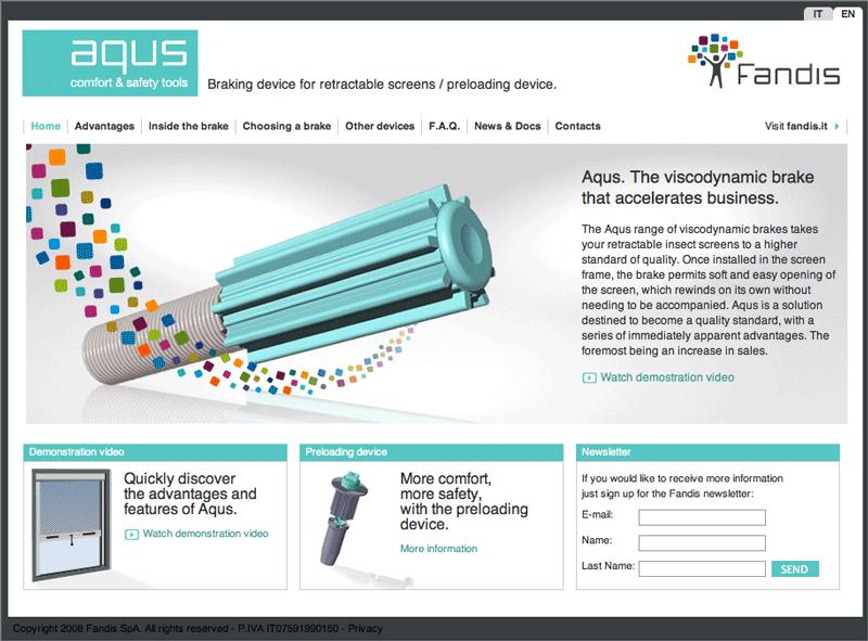 sito internet Aqus