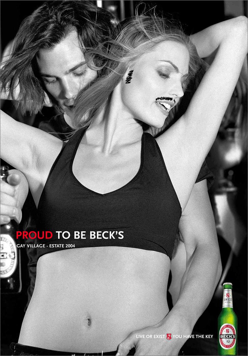 Becks campagna ADV 1
