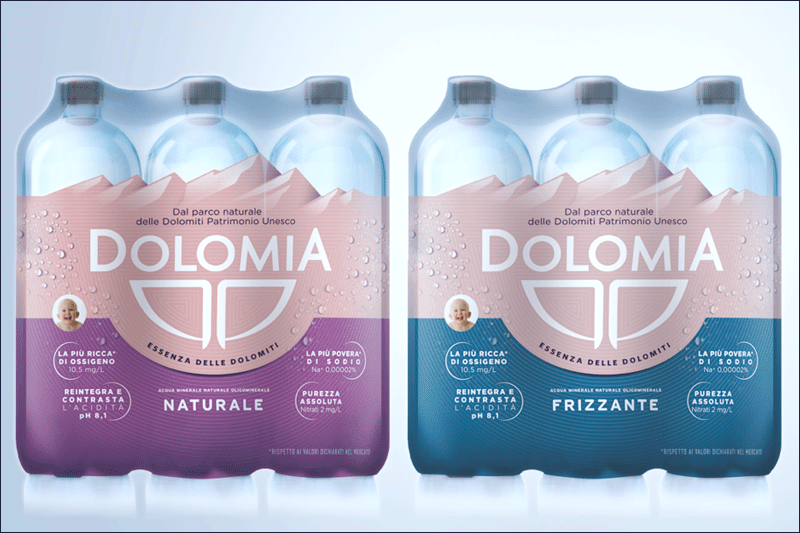 6 pack Dolomia